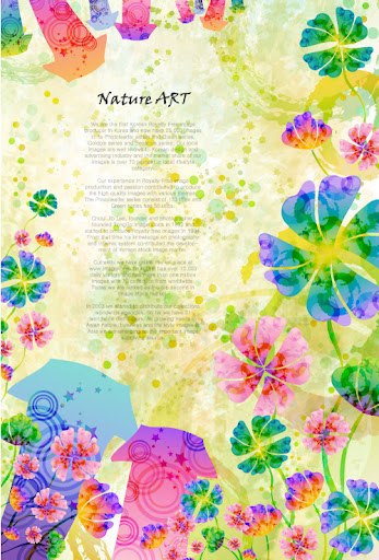 Clover Flower Nature Art1