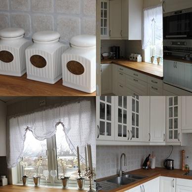 montasje av kjøkkenet