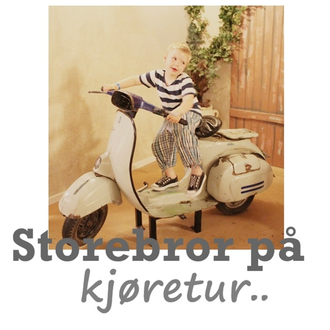 storebror på moped