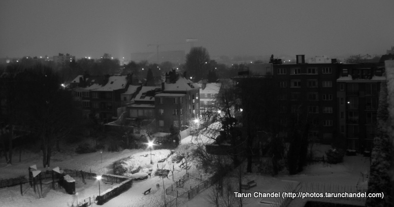 Snow Winters Snowfall Belgium Snowfall Brussels Snow Evere Snowfall, Tarun Chandel Photoblog