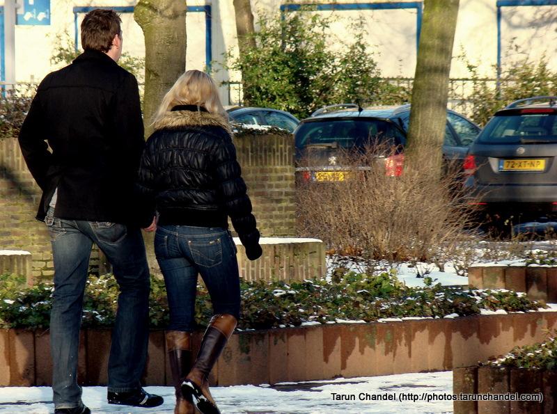 Dutch Couple Walk Holland Netherlands, Tarun Chandel Photoblog
