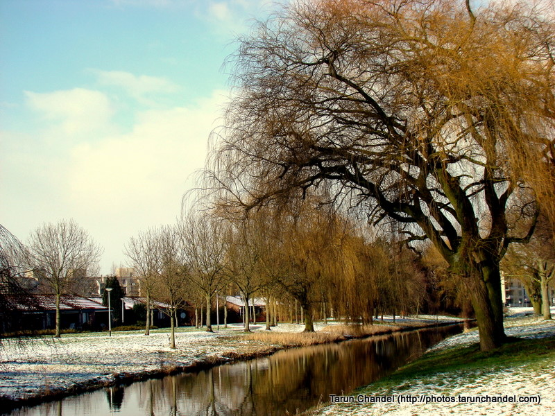 Snowy River Bank Netherlands Holland Dutch, Tarun Chandel Photoblog