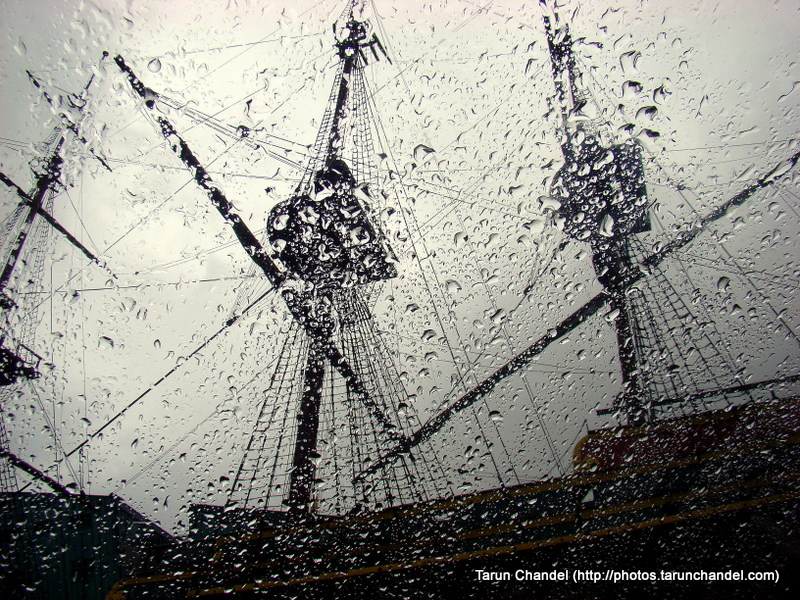 Rainy Boat Amsterdam Netherlands Dutch Holland, Tarun Chandel Photoblog