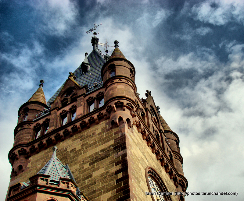 Schloss Drachenburg German Fort Konigswinter Side Tower, Tarun Chandel Photoblog