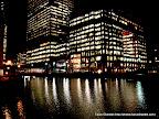 Canary Wharf Shining Bright at Night, Tarun Chandel Photoblog