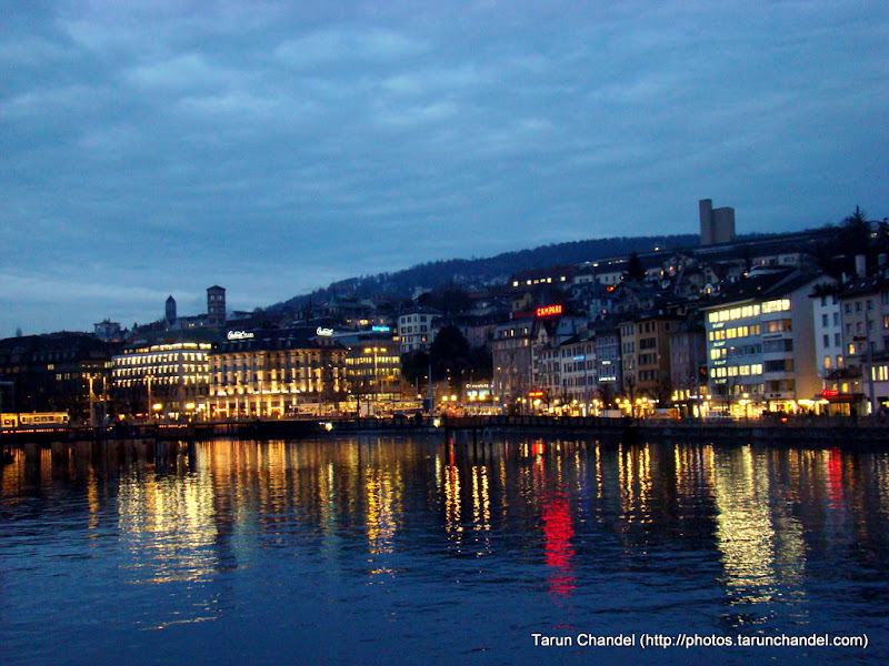 Zurich City by the Limmat Riverside, Tarun Chandel Photoblog