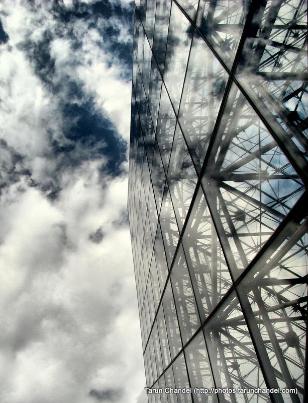 Louvre Museum Paris France Pyramid Reflection, Tarun Chandel Photoblog
