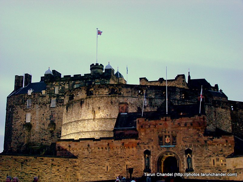 Edinburgh Castle at Dusk, Tarun Chandel Photoblog