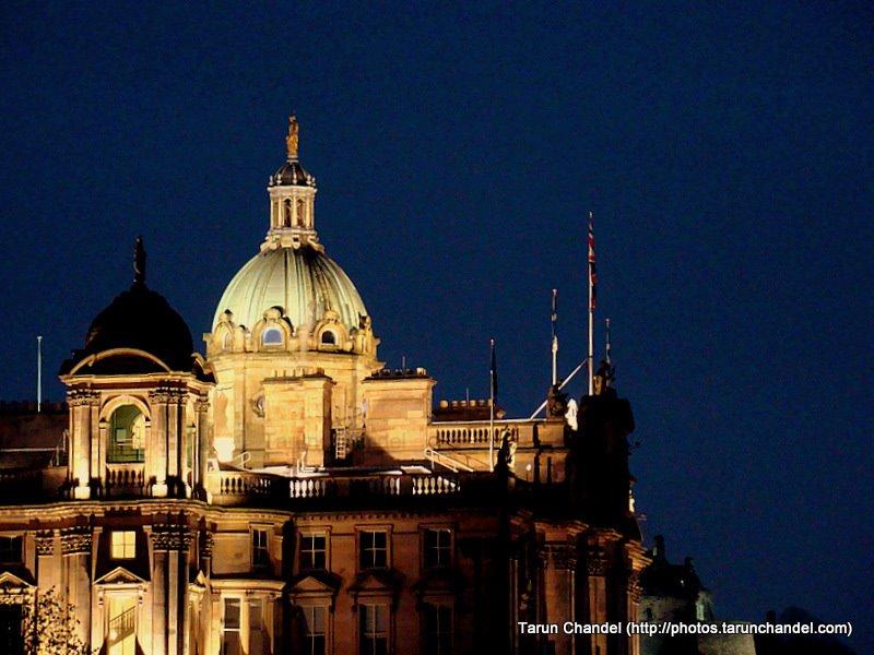 Edinburgh Night Photos, Tarun Chandel Photoblog