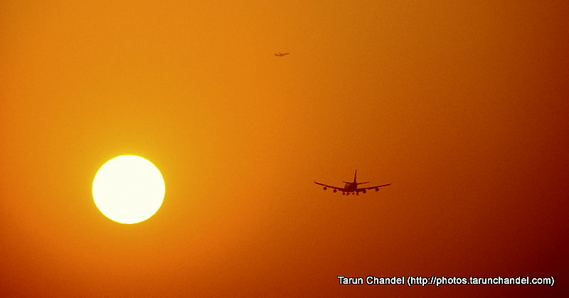 Airplane sunburn, Tarun Chandel Photoblog