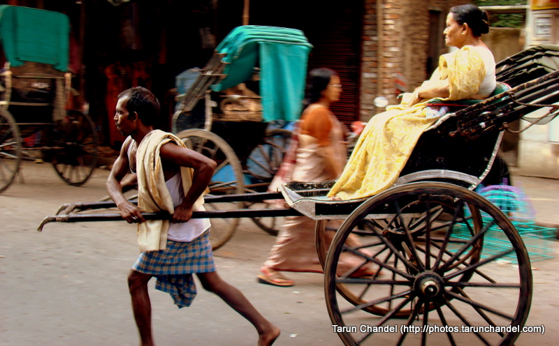 Rickshaw Puller Kolkata Trip, Tarun Chandel Photoblog