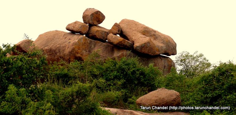 Forest Stones ISB Indian School of Business Hyderabad, Tarun Chandel Photoblog