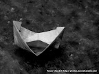 Boat Floating In Rains, Tarun Chandel Photoblog