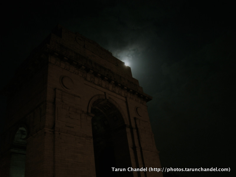 Night Photography India Gate New Delhi, Tarun Chandel Photoblog