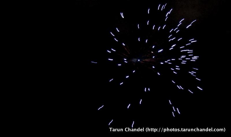 Ganesh Visarjan Festival Fireworks Mumbai, Tarun Chandel Photoblog