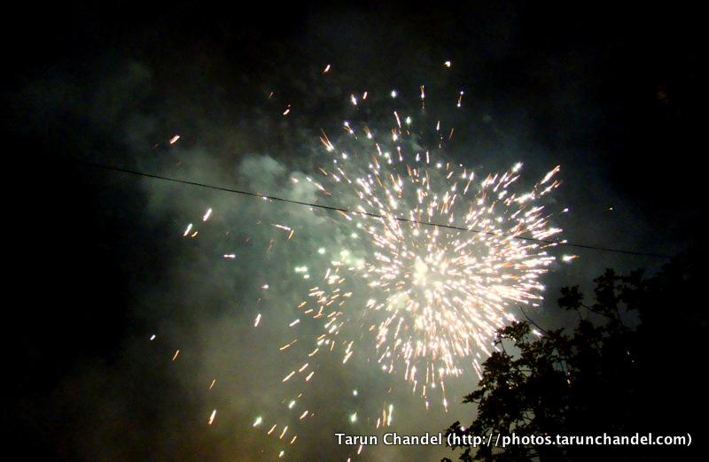 Fireworks Ganesh Visarjan Festival Mumbai, Tarun Chandel Photoblog