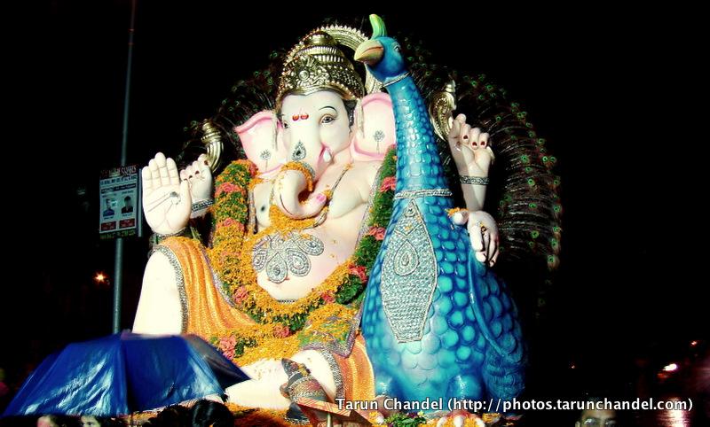 Ganesh Visarjan Festival Mumbai, Tarun Chandel Photoblog