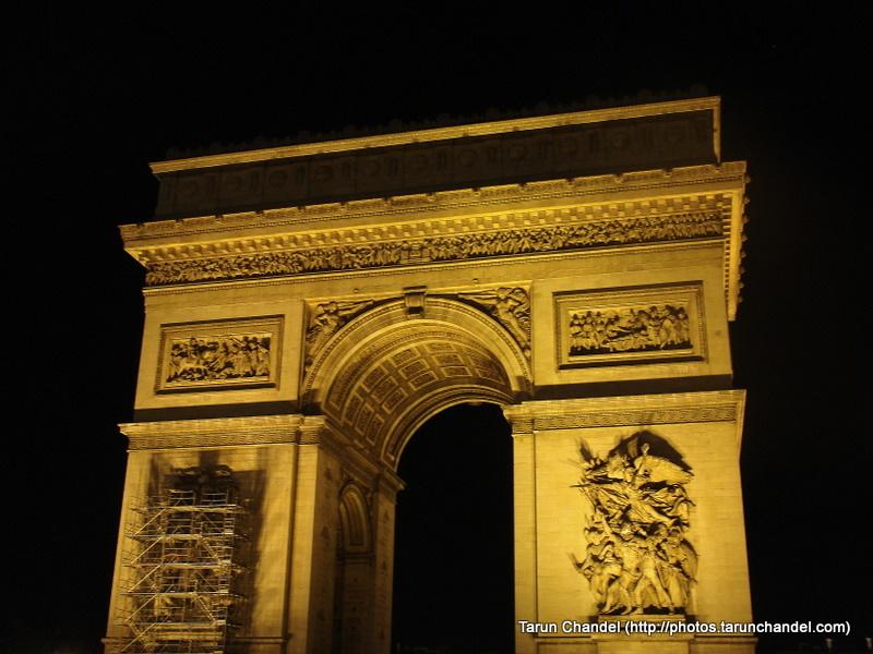 Arc de Triomphe de l%27%C3%89toile Paris France, Tarun Chandel Photoblog