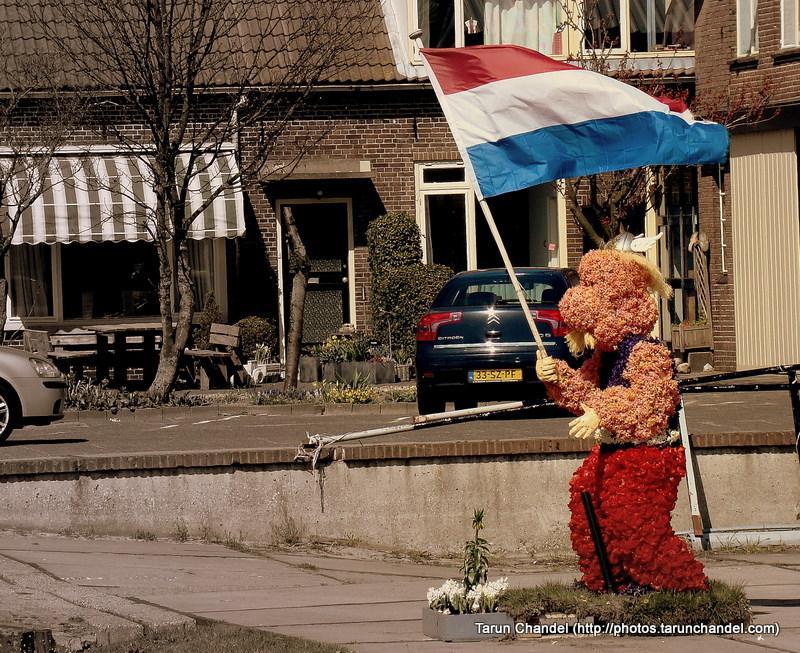 Flower Mascot Kuekenhof Netherlands, Tarun Chandel Photoblog