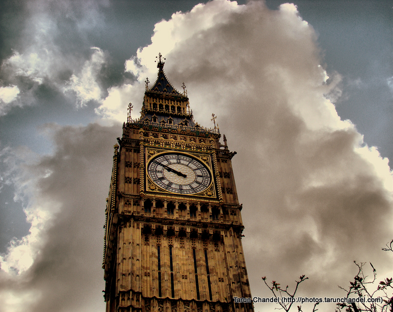 Big Ben London UK, Tarun Chandel Photoblog