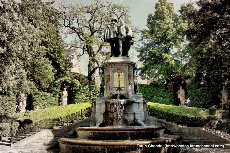 Petite Sablon Square Belgium Brussels, Tarun Chandel Photoblog