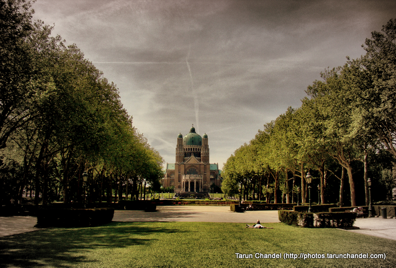 Basilica of the Sacred Heart Brussels Green Belgium, Tarun Chandel Photoblog