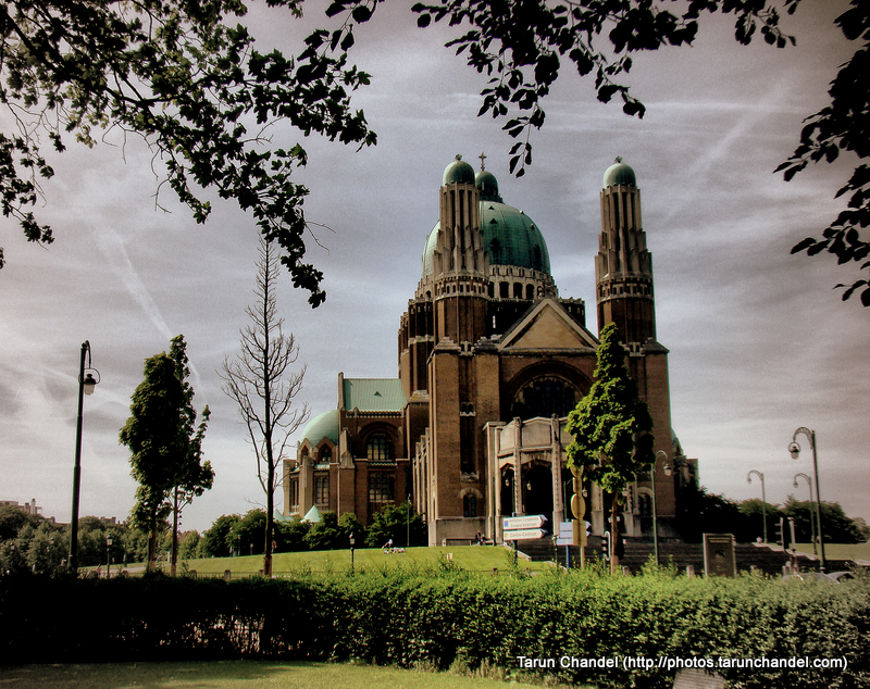 Basilica of the Sacred Heart Brussels Belgium Side View, Tarun Chandel Photoblog