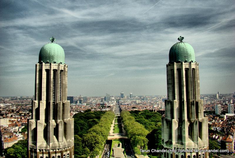 Basilica of the Sacred Heart Brussels Belgium Towers Brussels Panorama, Tarun Chandel Photoblog