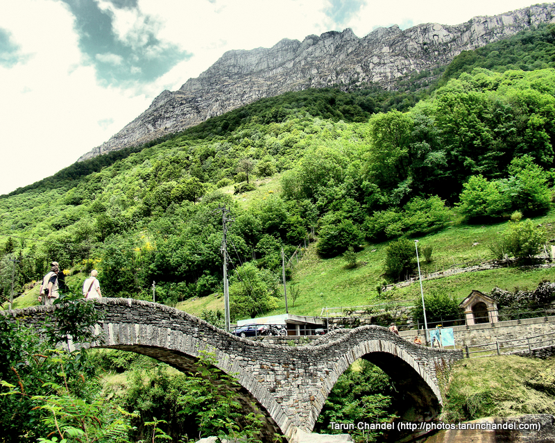 Ponte dei Salti Ancient double arch stone bridge Lavertezzo Verzasca valley Switzerland, Tarun Chandel Photoblog