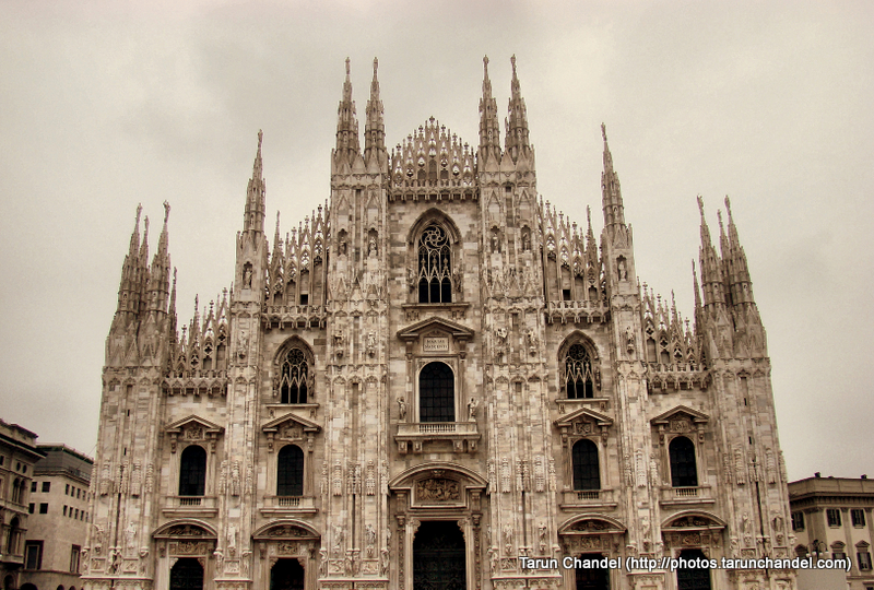 Milan Duomo Milan Cathedral Morning Milan Italy, Tarun Chandel Photoblog