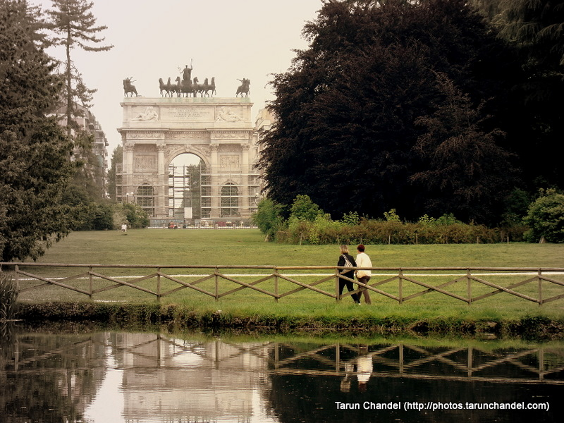 Arco della Pace Arch of Peace Arco Sempione Arch Parco Sempione Park Milan Italy, Tarun Chandel Photoblog