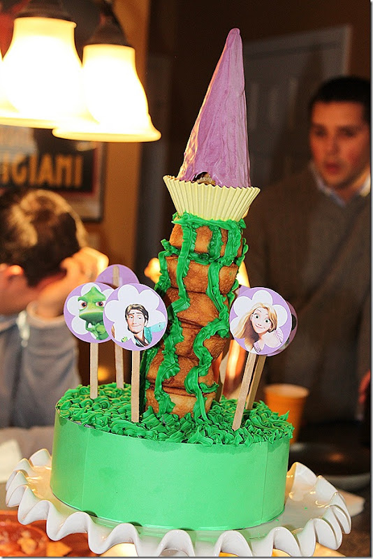 Sophie 5 tower cake