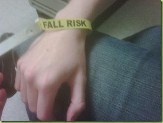 Fall Risk!