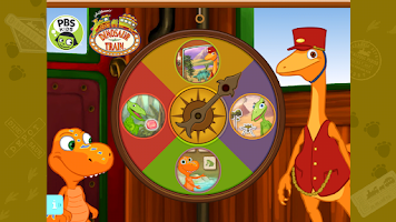Screenshot of Dinosaur Train Math - PBS KIDS