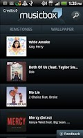 Screenshot of Music Box Ringtones