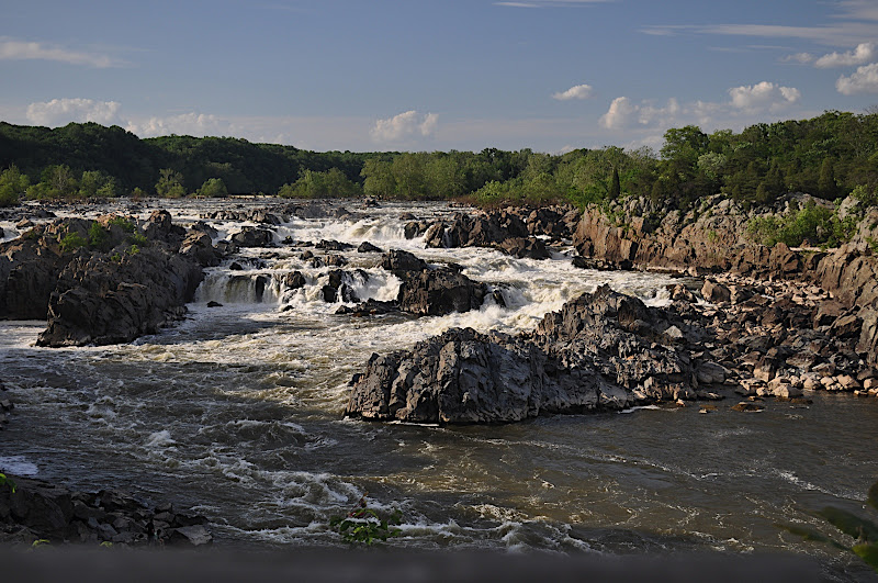 Great Falls of the Potomac River from Overlook 3