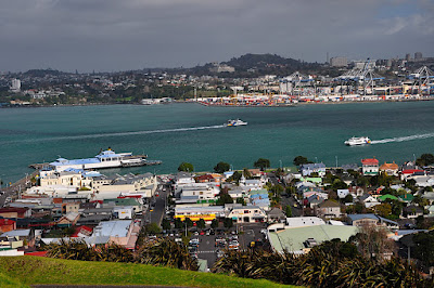 Looking toward Auckland from Devonport
