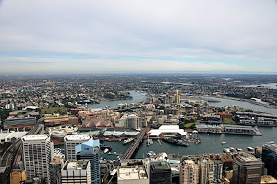 view of Sydney, NSW, AU from Sydney Tower