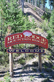 entrance sign for Red Lodge Mountain