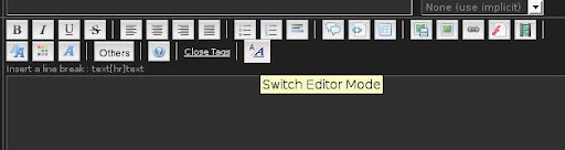 Switch Editor Mode Machinusmanga12