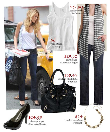 Get Blake Lively's complete look for around $200 with affordable buys from