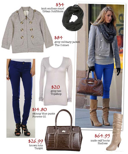 Channel your inner gossip girl with out budget take on Blake Lively from
