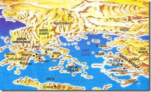 Grécia - um território montanhoso