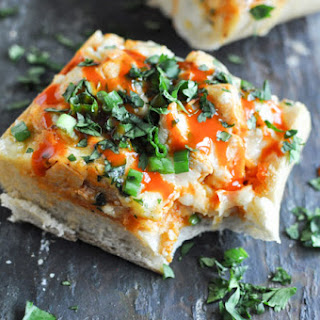 30-Minute Buffalo Chicken French Breads