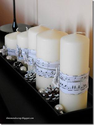 candele fianco