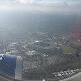 Flyger över London och snart landar vi