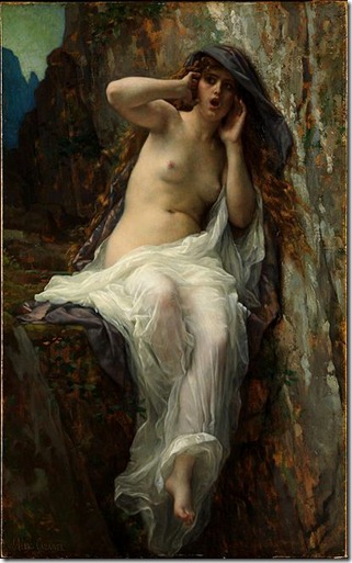 Echo by Alexandre_Cabanel (1887)