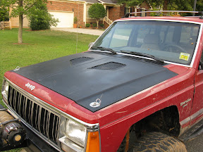 XJ with hood vents