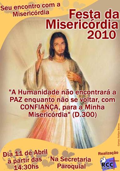 FOLHETO MISERICÓRDIA - IMAGEM
