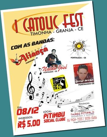 cartaz catolicfest